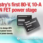 TI、80VハーフブリッジGaN FETモジュールのプロトタイプを発表