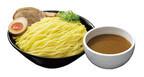 東京都・JR渋谷駅「日清ラ王 袋麺屋」で、「つけ麺 濃厚魚介醤油」を販売