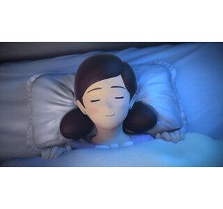 「ベッドのフチ子」がパジャマ姿&華麗な背面ロールやエビ反りを披露!