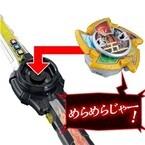 めらめらじゃー!『ニンニンジャー』5つの忍法発動!玩具『五トン忍シュリケン』