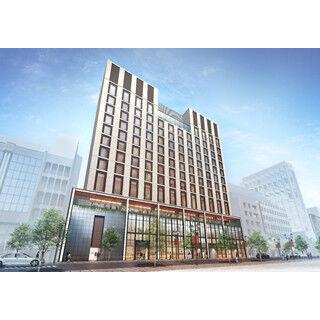 東京都・銀座に朝日新聞の12階建て新ビル - 商業施設と高級ホテルで構成