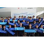 ANA入社式、片野坂新社長「安全こそが全て」と全1,189人を激励 - 写真22枚