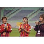 INAC神戸川澄選手「サッポロ一番はじめます。」宣言 - 試合も白星で