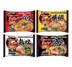 ラーメン店が監修した冷凍麺「お水がいらないラーメン」4種が新発売