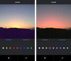 Instagramに新編集ツール「色」と「フェード」、Android版から提供開始