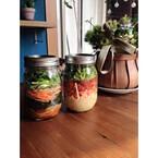 東京都・勝どきで「太陽のマルシェ」 - 4月は春野菜で作るジャーサラダ!