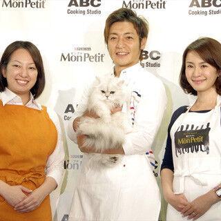 つるの剛士がABC Cookingで愛猫料理づくりに挑戦