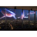 大阪府「あべのハルカス」の夜景と3Dプロジェクションマッピングが共演中!