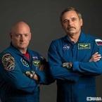 宇宙飛行士2人、1年間の国際宇宙ステーション滞在を開始
