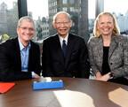 日本郵政、Apple、IBMが提携、iPadを活用して高齢者の生活をサポート