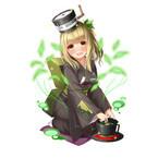 スマホ向けRPG「家電少女」にシャープ製品のキャラ登場 - お茶プレッソなど