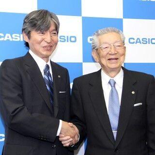 カシオの樫尾和雄・現社長が新たに会長兼CEOへ - 新社長は樫尾和宏・現専務