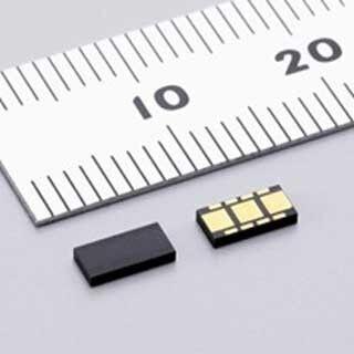 村田製作所、世界初の表面実装型のMEMS角加速度センサを開発