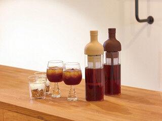 """自宅で""""水出しコーヒー""""が作れる、「フィルターインコーヒーボトル」が発売"""