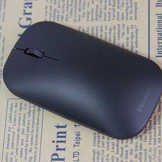 日本マイクロソフトの「Designer Bluetooth Mouse」を試す - ぜい肉をそぎ落としたボディ美が魅力