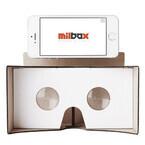 スマホを装着してVRを体験! - ダンボール製VRゴーグル「Milbox」