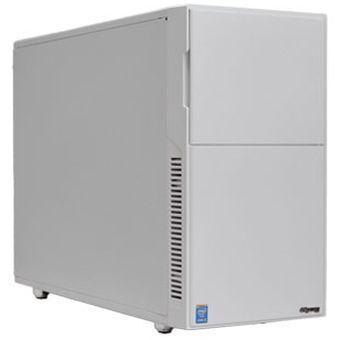 サイコム、静音デスクトップPCの選択オプションに白色PCケース登場