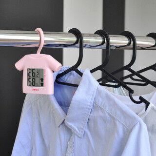 洗濯物の乾きやすさを教えてくれる温湿計「部屋干し番」