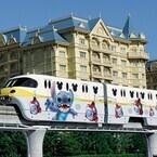東京ディズニーリゾート、スティッチのラッピングモノレール運行決定!