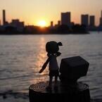 頭部の超変形&ポーズ自在『完全変形ダンボー』がかわいい!「小岩井よつば」と一緒に東京観光を楽しんでみました