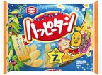 七夕限定で今年も登場! 「210g ハッピーターン7袋詰 七夕」発売--亀田製菓