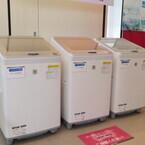 シャープ、ガラストップデザインを採用した縦型洗濯乾燥機