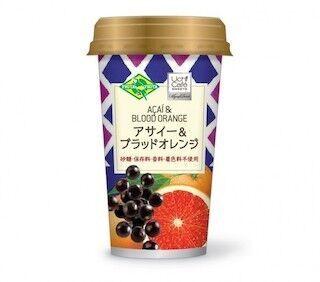 ローソン×フルッタフルッタ、「Uchi Caféアサイー&ブラッドオレンジ」発売