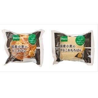 敷島製パン、国産小麦「ゆめちから」などを使用した菓子パン2種を発売