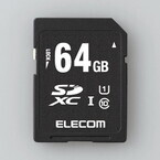 エレコム、-25℃から85℃までの環境で使えるSDカード