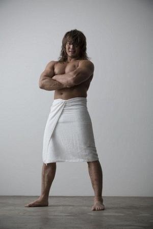 新日本プロレス・棚橋弘至選手の初フォトブックが登場--かっこいい筋肉満載
