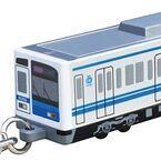 西武鉄道「6000系電車型キーライト」「Bigキーホルダー」鉄道新グッズ発売