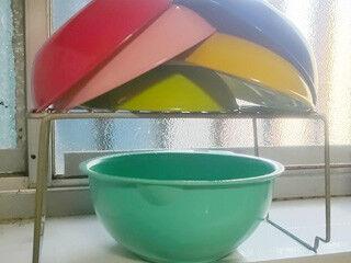 100均のワイヤーラックを使ったキッチン収納ワザ