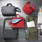 モレスキン、「マイクラウド ブリーフケース」など多機能バッグ全6種を発売
