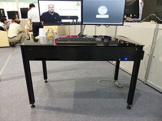 "COMPUTEX TAIPEI 2015 - Lian Li、より机らしくなった新型の""机型ケース""を2モデル展示"