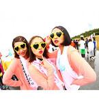 愛知県・ラグーナビーチで「バブルラン」開催! 泡まみれ野外パーティーも