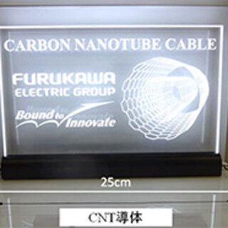 古河電工、世界最高クラスの導電率を実現したCNT導体を開発