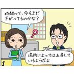 地価が底打ちし始めた日本経済