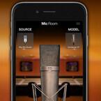 古今東西のマイク名機をモデリングしたiPhone/iPad用アプリ「Mic Room」