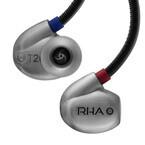 RHA、2種類のボイスコイルを使用したハイレゾ対応イヤホン