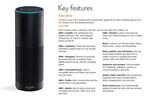 米Amazon、音声認識する筒型デバイス「Amazon Echo」を予約開始