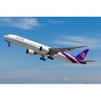 タイ国際航空、ボーイング777-300ERを受領 - 自社購入では25機目
