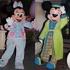 カリフォルニア ディズニーランド・リゾート60周年 (2) パジャマ姿のミッキーたちに会える! 年に一度の24時間オープン