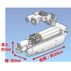 東芝など、福島第一原発向け原子炉格納容器内部調査ロボットを開発