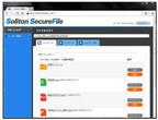 ソリトン、モバイル端末で社内ファイル・サーバをセキュアに閲覧できる「Soliton SecureFile」