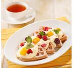 マザーリーフ、フルーツとクリームチーズのワッフルなど夏季メニューを発売