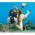 カシオ「EXILIM」、分離合体カメラ「FR10」用リングライトや防水ハウジング