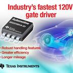 TI、ハイブリッド車の電源向けハーフブリッジ・ゲート・ドライバを発表