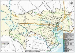 東京都、広域交通ネットワーク計画で臨海部と品川に地下鉄構想
