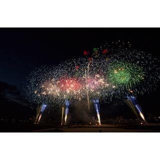 5秒間に1,000発! 東京都で「江戸川区花火大会」開催 - 富士山花火も登場