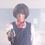清野菜名、押井守監督作で血まみれアクション!衝撃ラストの映像&新写真公開